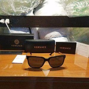 NWT Authentic Mens Versace Acetate Sunglasses